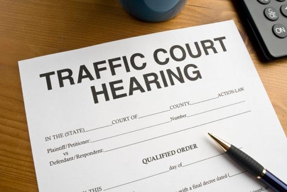 Traffic ticket law